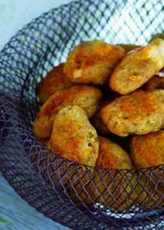 Broas de batata doce com mel e especiarias