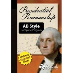 Presidential Penmanship - learn penmanship and about the presidents at the same time.