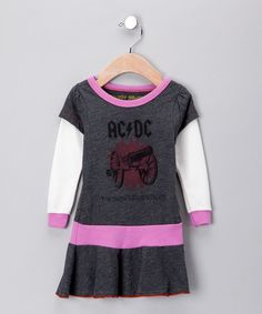 AC/DC dress from Rowdy Sprout.