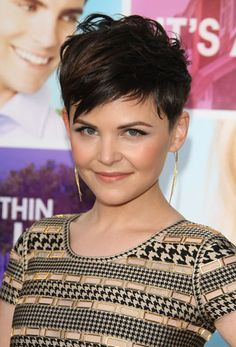 Kurzhaarfrisuren: Ginnifer Goodwin