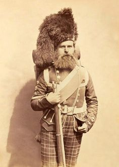 c1856 Crimean War Colour-Sergeant Taylor 72nd Highlanders  (the Duke of Albanys Own)