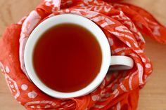 Don't throw those orange peels away - make Orange Clove Tea -- Rich in Vitamins to help stave off illness this winter!