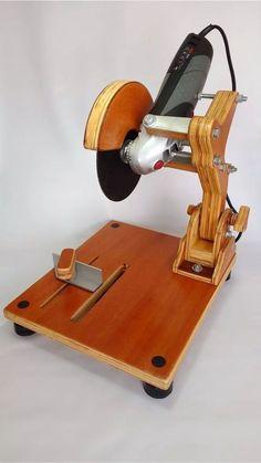 suporte para esmerilhadeira skil 9004 disco de até 7 #WoodworkingTools