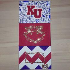 #crafts #KU #canvas