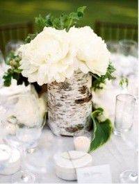 Fell in love with Birch at the wedding Expo. Pretty sure I want to incorporate it into our wedding scheme :)