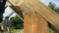 Woodworking Program Our program allows you to build your own timber frame home or cabin with our guidance, help, teaching and supervision. Woodworking Courses, Learn Woodworking, Woodworking School, Horse Run In Shelter, Pre Built Cabins, Timber Framing Tools, Joinery Details, Backyard Pavilion, Timber Buildings
