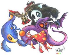 Six Pokemon