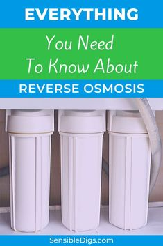 What is reverse osmosis water and should you be drinking it? Our guide is here to answer all your questions and more, so you can make the right choice for you and your family. #reverseosmosis #cleanwater #waterfiltration #waterpurification #drinkingwater #drinkwater