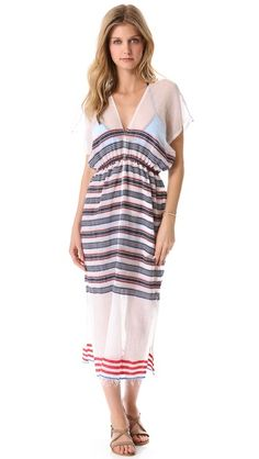 Lemlem Adersh Cover Up Dress - Dreaming of summer days in this rainy weather...