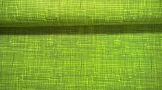 Stoff grafische Muster - Baumwollstoff Popeline Gitter limegrün grau - ein Designerstück von Stoffe-guenstig-kaufen bei DaWanda