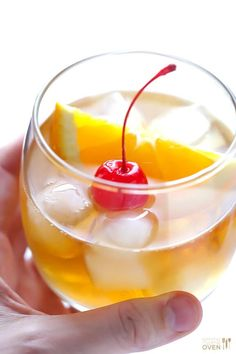 Learn how to make an old fashioned cocktail with my favorite old fashioned recipe. It's a classic!