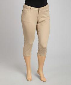 Khaki Capri Pants | Gpant