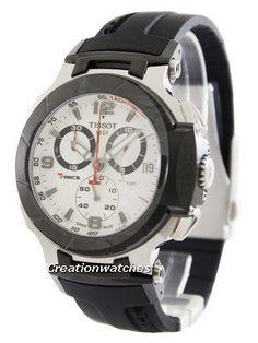 be70e6fe0e6 Tissot T-Race Chronograph T048.417.27.037.00 T0484172703700 Men s Watch Tissot  T Race