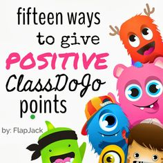 All Things Upper Elementary: Fifteen Ways to Give Positive ClassDojo Points: Guest Poster, Flapjack Education Resources --- hate classdogo. its pointless (pun!but seriously. Class Dojo, Classroom Behavior Management, Behaviour Management, Behavior Board, School Classroom, School Fun, Classroom Ideas, School Stuff, Autism Classroom