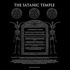 Never Let Your Activism Be Artless: An Interview With Lucien Greaves of The Satanic Temple Satanic Rules, Satanic Art, Baphomet, Magick, Witchcraft, Wiccan, Dark Side, The Satanic Bible, Occult Art