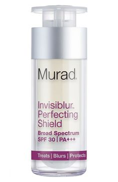 Murad® 'Invisiblur™' Perfecting Shield Broad Spectrum SPF 30 PA+++ available at #Nordstrom