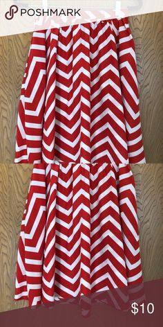 Chevron patterned skirt Fun skirt for Sunday brunch Xhilaration Skirts A-Line or Full