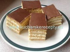 Vytlačiť    Medové rezy    Autor: Heidi  Náročnosť:ľahká     Príprava surovín: 30 min   Tepelná príprava: 55 min   Spolu: 1 hod 25 min      Ingrediencie Cesto:  mlieko 5 PL margarín 150 g vajce 1 sóda bikarbóna 1 KL med 2 PL práškový cukor 150 g hladká 4 Ingredients, Tiramisu, Waffles, Cheesecake, Breakfast, Ethnic Recipes, Desserts, Food, English