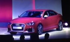 Audi RS3 Sedan Confirmed for US Market, and There's Video Proof It Exists
