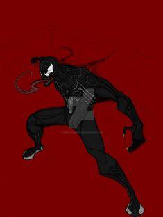 Black Spider, Venom, Marvel Comics, Spiderman, Darth Vader, Anime, Fictional Characters, Spider Man, Cartoon Movies