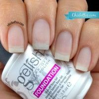 """How to use the """"Acrygel"""" technique to strengthen and repair your nails- might need to try this. My nails are soft as paper and no amount of vitamins or treatments have helped to strengthen them. Love Nails, How To Do Nails, Pretty Nails, Cnd Shellac, Nail Tutorials, Gel Nail Polish, Uv Gel Nails, Manicure And Pedicure, Diy Nails"""