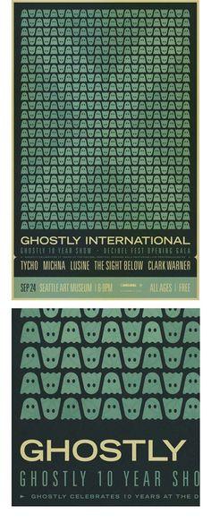 Ghostly 10 Year Show by Scott Hansen