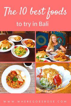 Bali Food Guide: 10 Amazing Balinese Foods To Try Trip To Bora Bora, Bali Honeymoon, Order Food, Philippines Travel, Bali Travel, Foods To Eat, Balinese, International Recipes, Southeast Asia