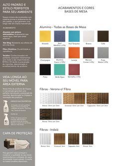 Bases de mesa Indaiá e Verona - #mobiliario #furniture #furnituredesign #furnitureideas #greenhousestorecwb #curitba #greenhouse #arquilovers #arquitetura #homedesign #decor #designinteriores