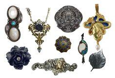 art nouveau jewelry i by jinxmim