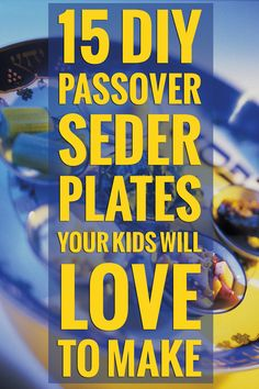 Get your kids involved in Passover with these awesome Seder plate crafts