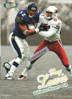1998 Ray Lewis, Ravens, Ultra Gold Parallel #178G http://www.rcsportscards.com/ravens-1998---1999.html