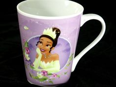 Disney's Princess and the Frog 12 Oz Ceramic Coffee Mug Featuring Princess Tiana