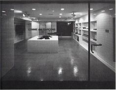 Comme des Garcons First Shop, From 1st, Minami Aoyama, 1976