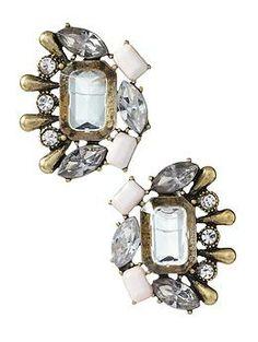 Sabine Vintage Cluster Stud Earring.