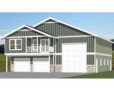PDF house plans, garage plans, & shed plans. Garage Plans With Loft, Pole Barn House Plans, Garage House Plans, Pole Barn Homes, Garage Ideas, Metal Barn Homes, Pole Barns, Garage Apartment Plans, Garage Apartments