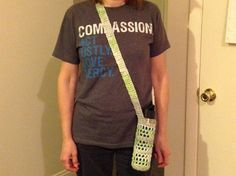 Crochet bottle holder by MelissasCreations33 on Etsy, $10.00