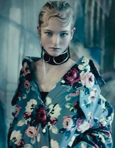 Jean Campbell by Paolo Roversi for Vogue UK May 2014
