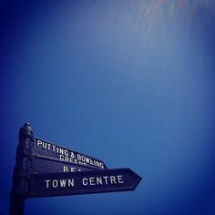 Cromer street sign. May 2012. © Mash Media UK Ltd