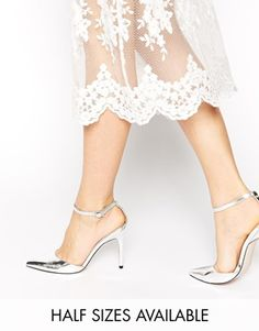 ASOS – PROMPT – Spitz zulaufende Schuhe mit hohem Absatz