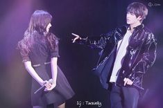 pls credit me if you repost my edits 🔮🎆 . Fated🎆💜 . #taerin #vrin #kimtaehyung #jungyerin #bangchin #bangchinsquad #dollrin #aliencouple G Friend, My Youth, Imagines, Bangs, Girlfriends, Taehyung, I Am Awesome, Ships, Happiness