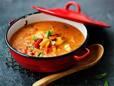 Finnish Recipes, Vegan Recipes, Cooking Recipes, Chorizo, Superfood, Risotto, Healthy Snacks, Meal Prep, Curry