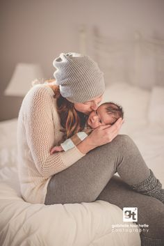 Newborn Photography // Mother and Baby