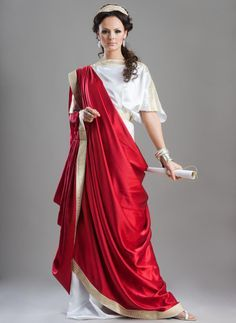 Roman themes for parties and reunions have become very popular in the past decade or so. The costumes worn for these parties have an air of mystery and beauty to them.