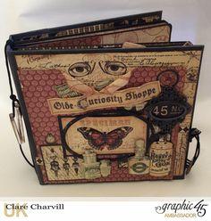 Olde Curiosity Shoppe Album - Graphic 45