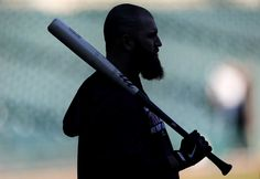 Boston Red Sox's Mike Napoli waits to bat during practice at Comerica Park. (Oct. 14, 2013) Photo Credit: AP