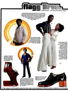 Super Fly Seventies Fashion From The Flagg Bros - Voices of East Anglia