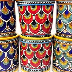Penna di Pavone Mugs, handmade in Deruta - This links back to one of the Blue mugs, but you can search the Bonechi Imports site for other Italian pottery, including the other Penna di Pavone mugs.