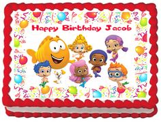 CAILLOU Image Edible Cake topper design Cakes Cake toppers and