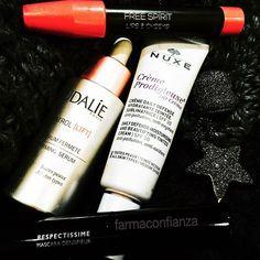 Mis #secretos para tener hoy #buenacara: el #serum #resveratrol #lift de #Caudalie, la #ddcream de #nuxe para unificar el tono de la #piel, un poquito de #colorete #lipsandcheeks de #kiko y mi #mascara de #pestañas #respectissime de #larocheposay  @tatigallardosauret  #farmaconfianza #farmaciaonline #farmacia #maquillaje #makeup #blog #blogger #bloggerlife #cosmetic #cosmetics #cosmetica #cosmeticaddict #skincare #igersbarcelona