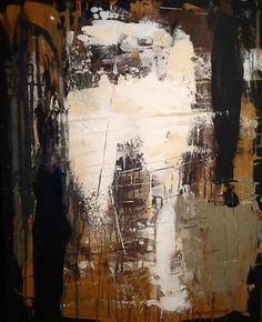 Abstract painting by W Joe Adams 24X30.